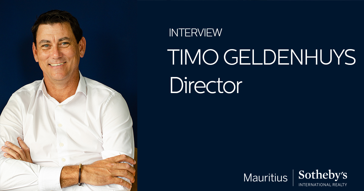 Timo Geldenhuys | Director of Mauritius Sotheby's International Realty